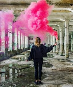 Dym do zdjęć