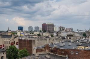 Tkanka miejska widoki Łódź 02