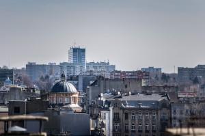 Tkanka miejska widoki Łódź 42