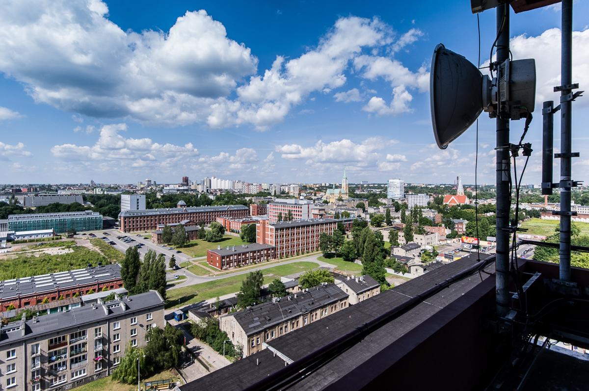 Widoki na Łódź Urbanica 03