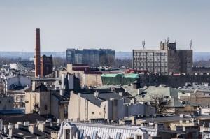 Tkanka miejska widoki Łódź 41