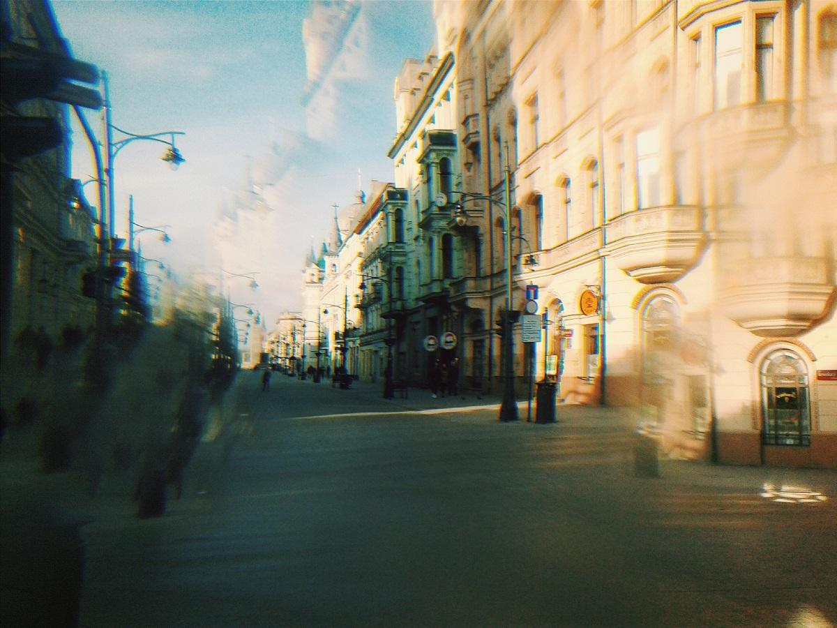 Ze szkiełkiem przez Łódź 01